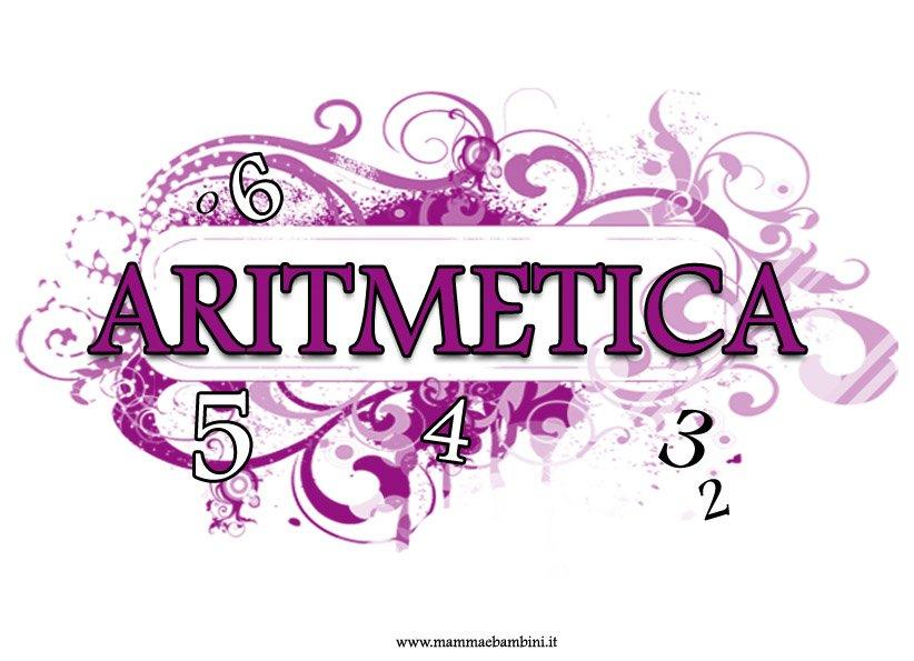 Copertina di Aritmetica colorata per quaderni