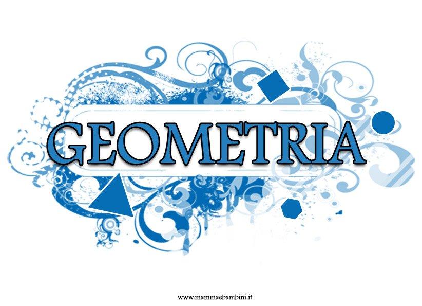 Copertina geometria colorata per quaderni