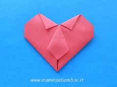 Lavoretto cuore con cravatta (II parte)
