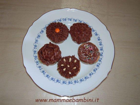 Ricetta per preparare i cupcakes