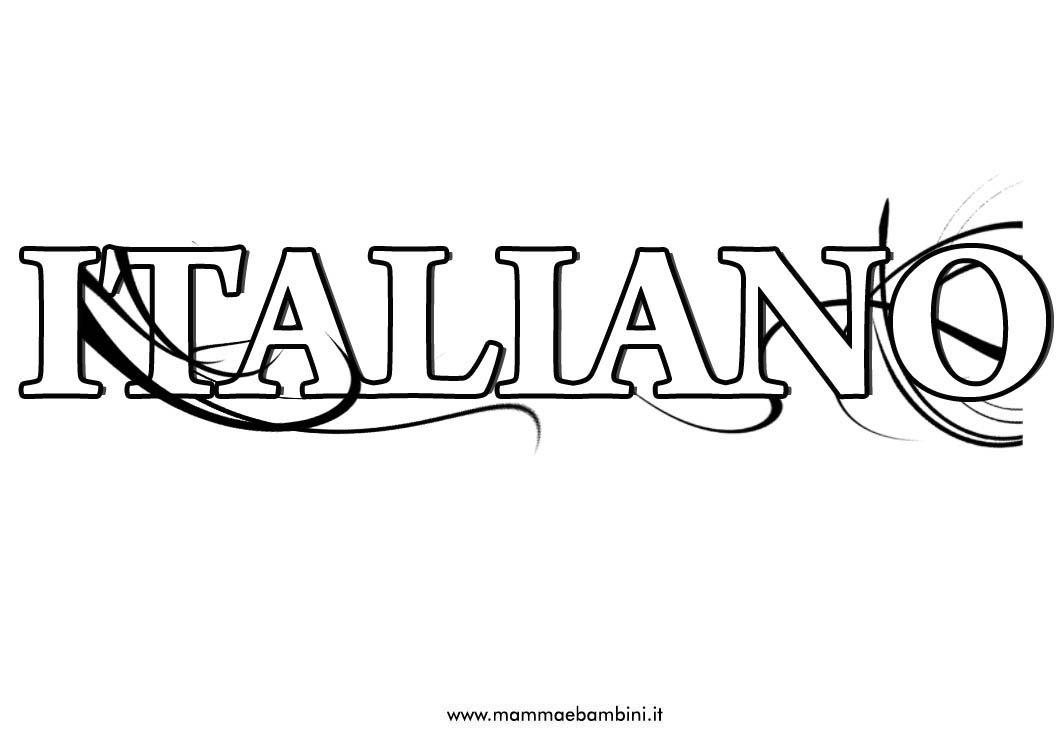 Copertine scuola per ragazzi: materia italiano
