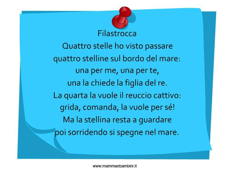 Amato Filastrocche - Pagina 4 di 18 - Mamma e Bambini TA59