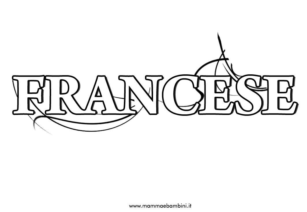 Nuova copertina quaderni per la materia di francese