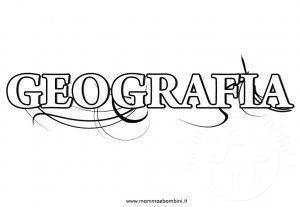 Copertine quaderni scuola: geografia