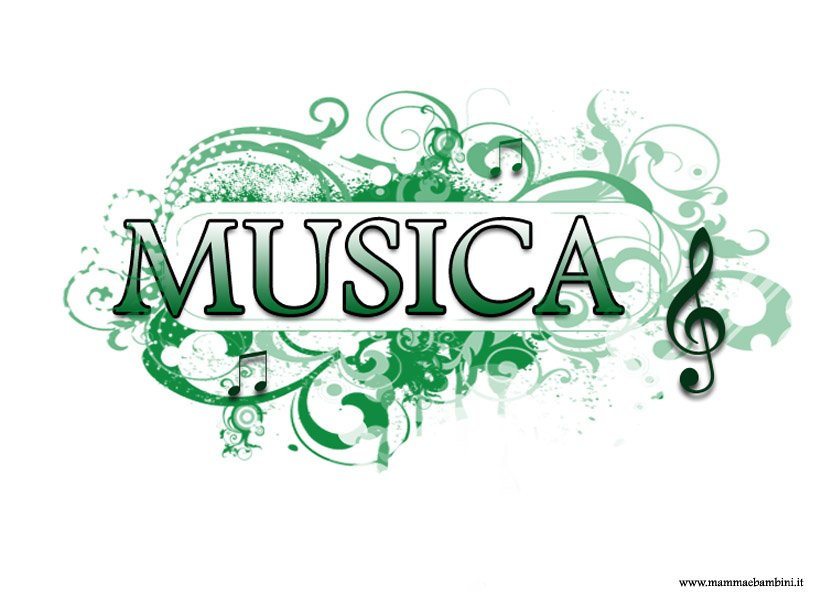 Copertina musica colorata da stampare