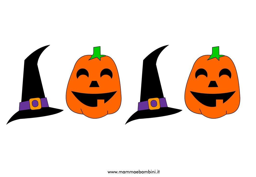 Festone Halloween con disegni da stampare