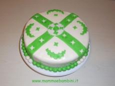 Foto torta decorata con MMF