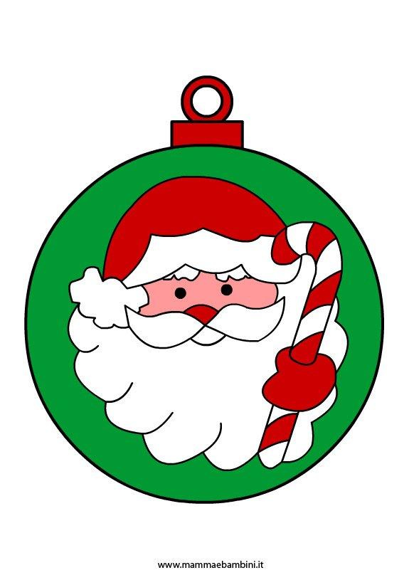 Disegni Di Palline Di Natale Da Stampare Mamma E Bambini