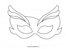 Disegni maschere da colorare per Carnevale