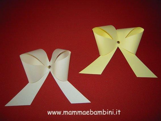 Préférence Come realizzare un fiocco di carta - Mamma e Bambini PK17