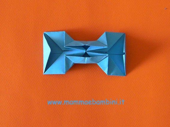 Papillon o farfallino con l 39 origami mamma e bambini for Papillon per bambini