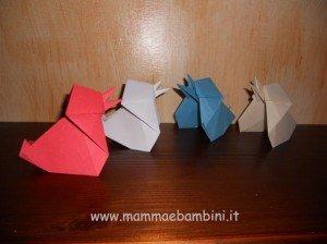 Video su come realizzare un pulcino di carta