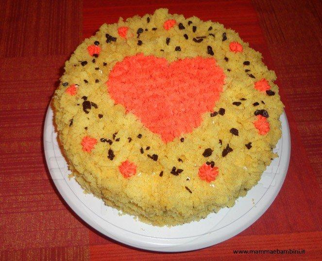 torta mimosa cuore 2