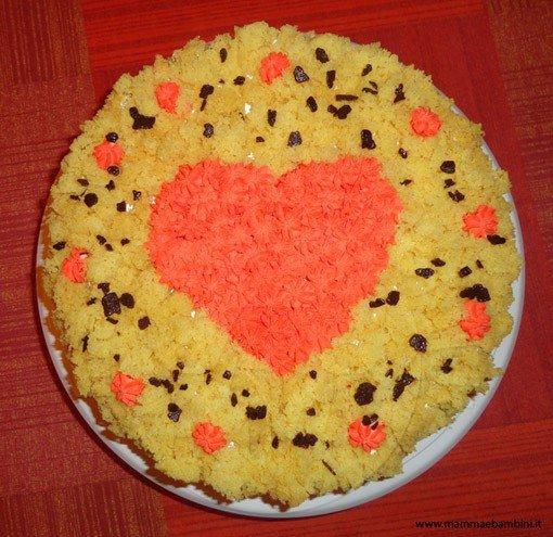 torta mimosa cuore