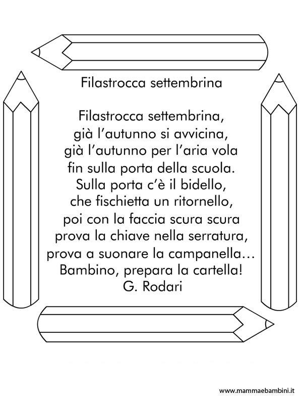 Amato Filastrocche - Pagina 2 di 18 - Mamma e Bambini MH08