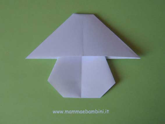 Fungo di carta origami (seconda parte)