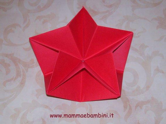 Natale: stella di carta 3D (II parte)