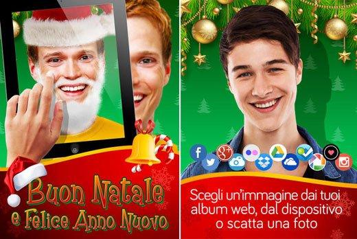 Un App per inviare auguri di Buon Natale e Felice Anno Nuovo