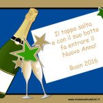 Cartoline auguri di Buon Anno Nuovo