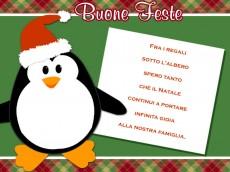 Auguri di Buon Natale in cartolina
