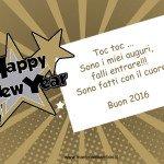 Frasi auguri di Buon Anno in cartoline