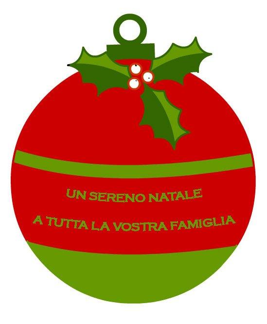 Nuova cartolina per auguri di Natale