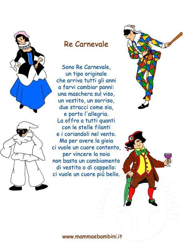 Poesie Carnevale: Re Carnevale