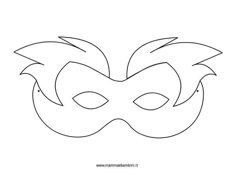 sagoma-maschera-fantasia