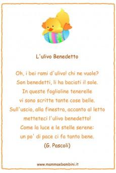 Poesie per Pasqua: L'ulivo Benedetto
