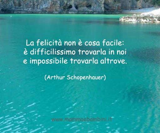 frasi sulla felicità schopenhauer