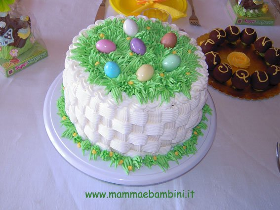 Come decorare torta a cestino