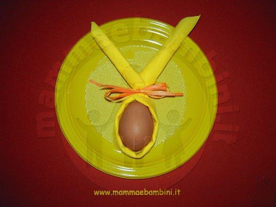 Come piegare i tovaglioli a Pasqua