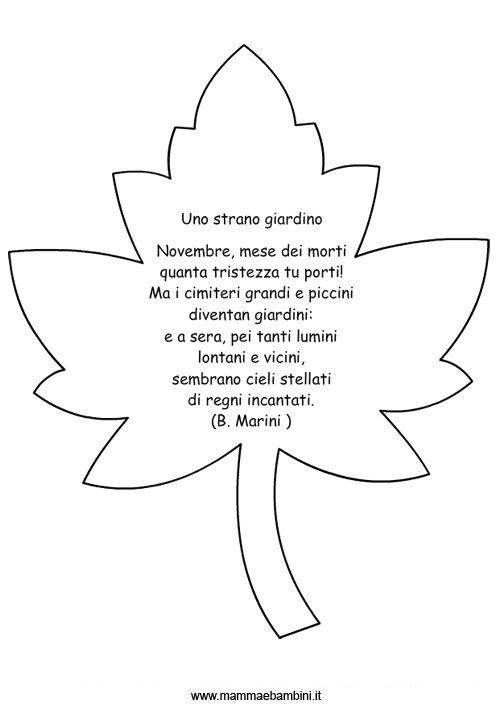 Favoloso 2 Novembre Commemorazione dei Defunti - Mamma e Bambini UN88
