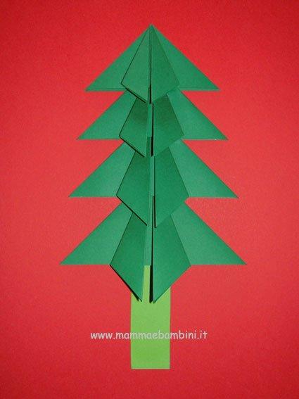Come fare albero di carta per Natale- Lavoretti
