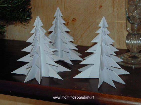 Come realizzare decorazioni di carta per natale mamma e bambini - Decorazioni natalizie per bambini fai da te ...