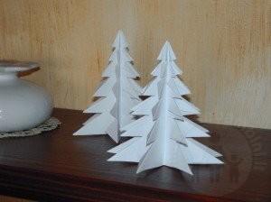 Albero di carta per Natale