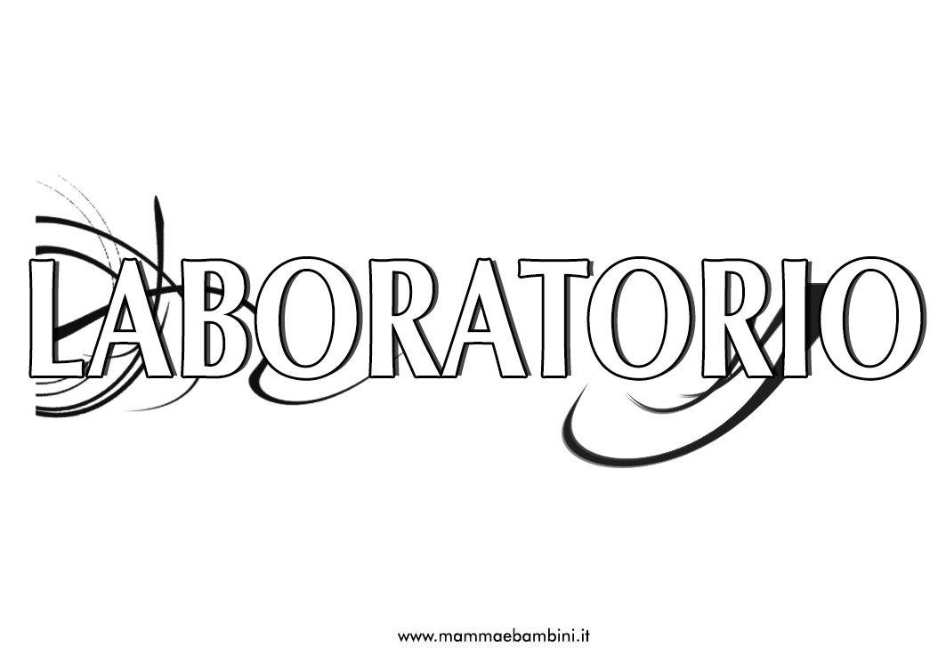 Copertine per materie : letteratura e laboratorio