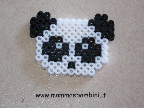 Come realizzare un panda con le perline Hama