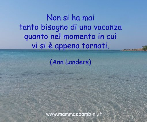 """Estremamente Poesia con cornice """"Vacanze per tutti"""" - Mamma e Bambini YB15"""
