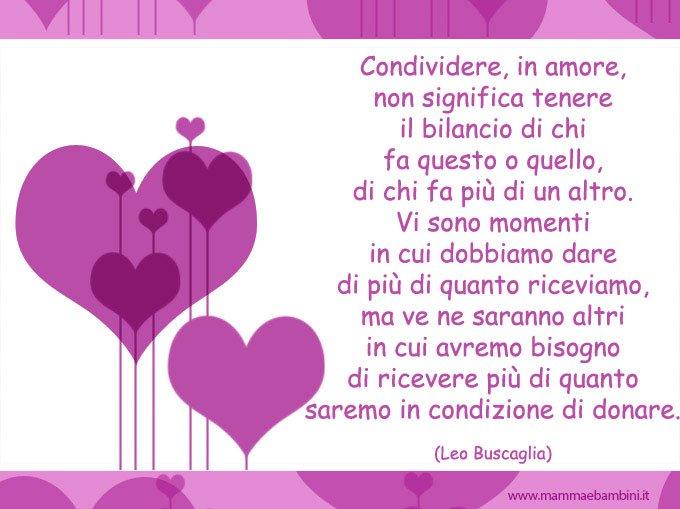 Preferenza Bellissima raccolta frasi sull'amore - Mamma e Bambini HL27