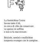 Filastrocca La formichina Cesira
