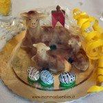 Ricetta pecorelle di pasta di mandorle