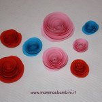 Come creare rose di carta a spirale
