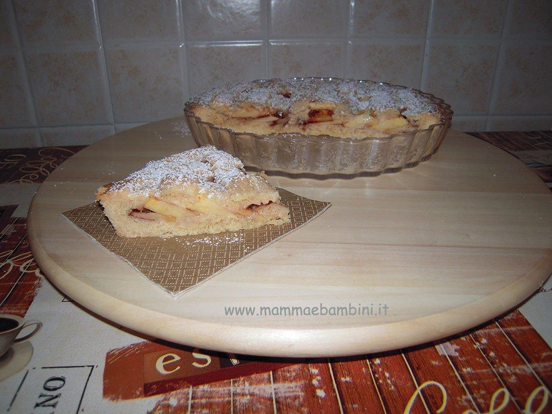 ricetta crostata mele facile 05