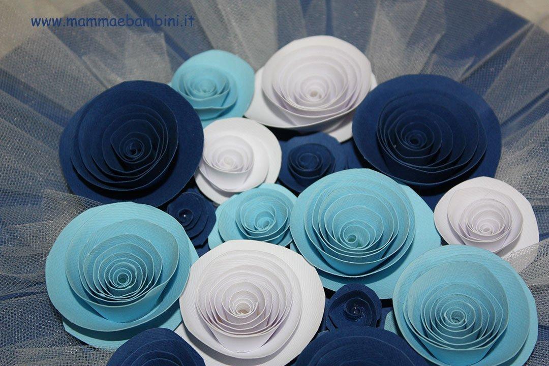 Connu Centrotavola con rose di carta fai-da-te - Mamma e Bambini QH74