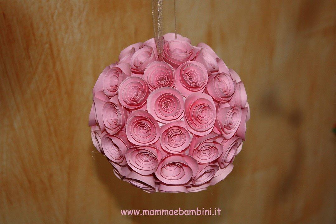 Lavoretto per Festa della mamma con rose 12