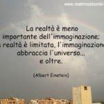 Frase su realtà e immaginazione