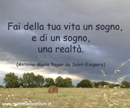 Frase sui sogni