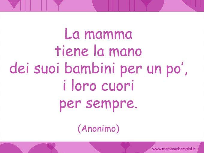Top Frase per la festa della mamma - Mamma e Bambini PH98