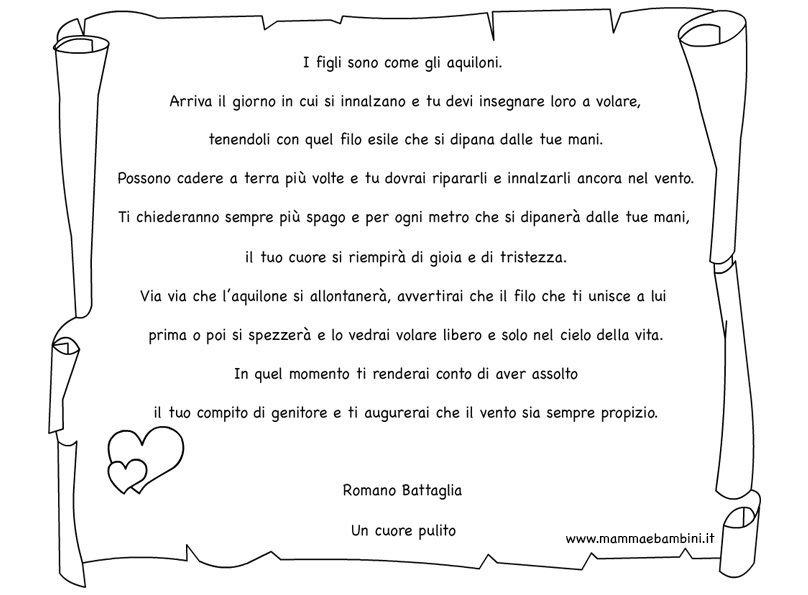 Molto Testo sui figli di Romano Battaglia - Mamma e Bambini RB95